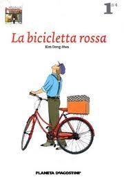 a clacca piace leggere...: la bicicletta rossa