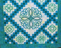 Irish Barn Quilt Patterns : 1000+ images about Celtic quilt patterns on Pinterest Celtic quilt, Celtic knots and Celtic