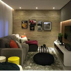 small living room warm colors