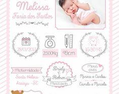 arte nascimento Framed Wallpaper, Album Design, Baby Birth, Flower Frame, Baby Decor, Baby Cards, Kids And Parenting, Diy For Kids, Baby Photos
