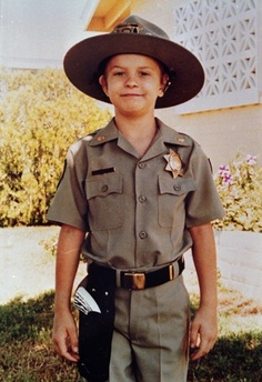 a Police Officer.  Chris Greicius- the first wish kid