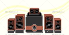 VECTOR DOWNLOAD (.ai, .psd) :: http://vector-graphic.de/pinterest-itmid-1000110442i.html ... Surround Speakers ...  audio equipment, background, bass, black, brown, membrane, modern, music, sound, speakers, surround sound, technology, volume control, wooden, yellow  ... Vectors Graphics Design Illustration Isolated Vector Templates Textures Stock Business Realistic eCommerce Wordpress Infographics Element Print Webdesign ... DOWNLOAD…