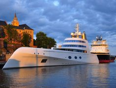 "Ill take one, thanks!  Mega Yacht ""A"" by Philippe Starck."