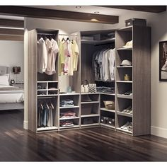 Cielo By Bestar Classic Corner Walk In Closet   Free Shipping Today    Overstock.com   20994359   Mobile