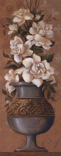 Courtly Roses III - mini Fine-Art Print by Jillian Jeffrey at UrbanLoftArt.com