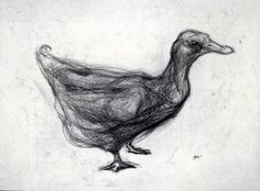 Nicola Hicks, Duck Drypoint Etching, Dramatic Arts, Animal Sculptures, Art Inspo, Sheep, Artsy, Gallery, Drawings, Artwork
