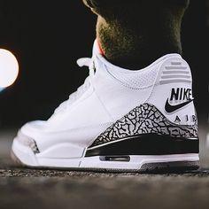 #nike #Jordan #sneakerhead #Sneakers #Air #nicekicks #AJ3 #Beastofsneakers #sneakerlook #solelysneakers #sneakerwatch #jordanbrand #nikebasketball #nikeair #jumpman23 #jordan3 #kicksonfeet #kickscollection #sneakersfile