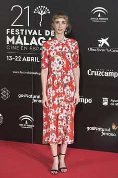 Actress Ingrid Garcia Jonsson attends the Malaga Film Festival 2018 presentation at Circulo de Bellas Artes on April 5, 2018 in Madrid, Spain.