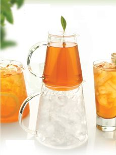 The Tea-Over-Ice Brewing Pitcher from Tea Forte!