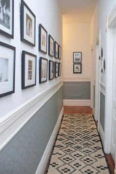 Narrow Hallway Decorating on Pinterest | Hallway Decorating ...