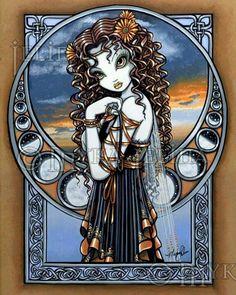 "Myka Jelina Gallery | Lucia"" by myka jelina"