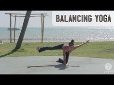 Balancing Yoga Routine: Gravity Glue (advanced level) - 16 Minutes