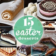 15 Easter Dessert Recipes :: Home Cooking Adventure