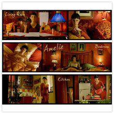 7. Amélie's Montmartre apartment.