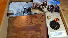 Bits and Boxes: Clockwork Couture October 2014 Steampunk Box Review #clockwork #steampunk #subscriptionbox #tea #zombies