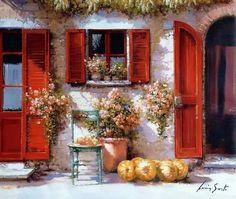 Pomeriggio d'agosto in Toscana ~ Lucia Sarto