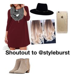 """""""Shoutout time"""" by fashionuber ❤ liked on Polyvore featuring Augusta, Zimmermann and Rifle Paper Co"""