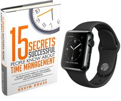 #AppleWatch Giveaway to Celebrate NEW BOOK: 15 Secrets Successful People Know About Time Management