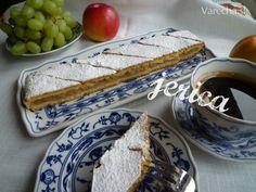 Jablkové pité - klasické (fotorecept) Apple Cake, Ale, French Toast, Sweets, Breakfast, Food, Basket, Morning Coffee, Gummi Candy