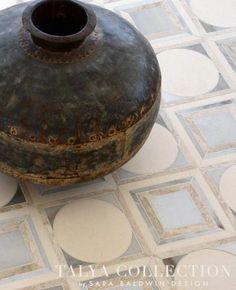Cicero stone waterjet mosaic Talya Collection | Sara Baldwin of New Ravenna | Marble Systems