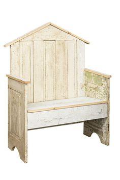 Repurposed Antique Farmhouse Wooden Door Garden Display Bench PA Dutch Handmade #NaivePrimitive #AmishHandmade