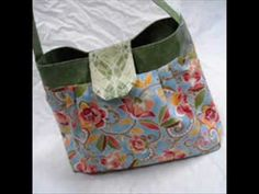 See how a Jamie Bag goes together - get the PDF pattern at www.sidquilts.etsy.com.