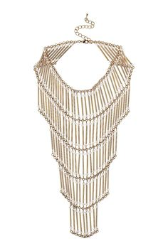 multi-row necklace topshop s.s2013 Statement Jewelry, Jewelry Necklaces, Beaded Necklace, Leg Chain, Body Jewellery, Hard Candy, Toe Rings, Ankle Bracelets, Head Wraps