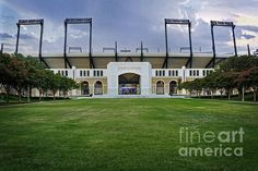 The Amon G Carter football stadium on the Texas Christian University campus in Fort Worth TX USA. To view or purchase my prints, visit joan-carroll.artistwebsites.com iPhone covers can be purchased at joan-carroll.pixels.com THANKS!