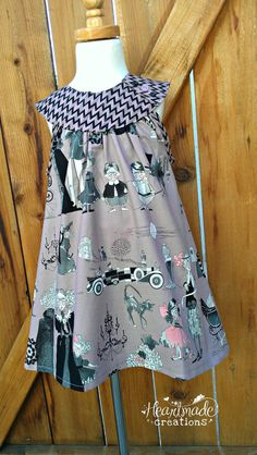 Ready To Ship  Ghastlies Blondie Dress  Size by HeartmadeCreations, $40.00