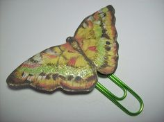 Handmade Butterfly Paperclip Page Marker and Planner Decoration