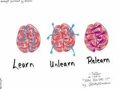 Learn Unlearn Relearn by giulia.forsythe, via Flickr