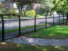 Wrought Iron Fencing    ~~Front yard fencing