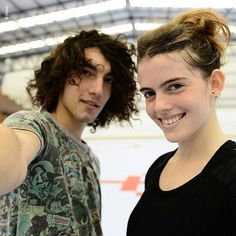 Jorge López e Chiara Parravicini