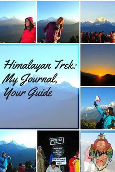Himalayan Trek: My Journal, Your Guide.My friends and I embarked on a 4-day trekking mission in Nepal last October (2014) envisioning ourselves standing atop the 3210m high Poon Hill, astounded at the captivating beauty of the Himalayan mountain ranges – Annapurna and Dhaulagiri, to name a few .
