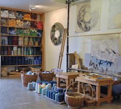 View of Hoxa Tapestry Gallery Studio