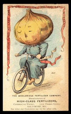 Trade Card Place Scrapbook - Vegetable People