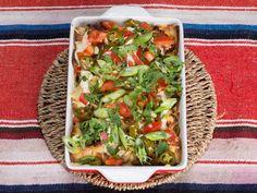 Spicy enchiladas med kjøttdeig bakt i ovnen
