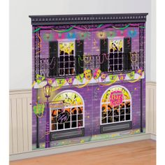 Mardi Gras Wall Decoration Kit | Wally's Party Factory #mardigras #decor