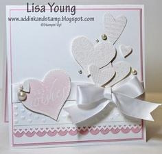 Weeding card, Add Ink and Stamp http://addinkandstamp.blogspot.co.uk/2012/04/retiring-stamps-blog-hop.html
