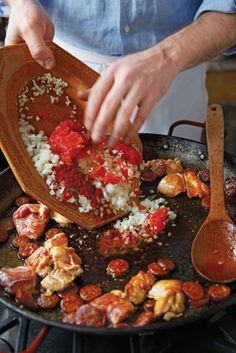 The Principles of Paella