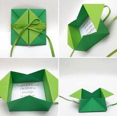 27 Beautiful Picture of Origami Envelopes & Letter Folding Origami Design, Instruções Origami, Origami Cards, Origami Gifts, Origami And Kirigami, Folding Origami, Origami Letter, Oragami, Origami Wedding