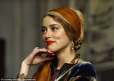 Amber Heard teased for 'claw hands' while filming The Danish Girl - Keith Paszek Amber Heard, The Danish Girl, Amber Earrings, Charlotte Casiraghi, Grunge Hair, Girl Costumes, Movie Costumes, Vintage Costumes, Oscars