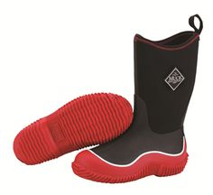 Muck Boots Kids' Hale Sport Boot in Red - Stretch-fit topline binding that keeps legs warm and the cold out. waterproof, lightweight, and flexible fit. Comfort range from sub-freezing to Also available in Pink and Blue. Kids Muck Boots, Teen Boots, Muck Boot Company, Comfortable Boots, Outdoor Outfit, Outdoor Gear, Waterproof Boots, Ugg Boots