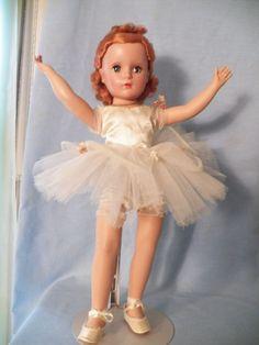 "VINTAGE Madame Alexander 18"" Nina Ballerina  1952"
