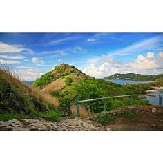 Hiking up the fort in Pigeon Island National Park .....one of the many things to…