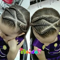Lil Girl Hairstyles, Braided Hairstyles, Haircut And Color, Beautiful Braids, Toddler Hair, Natural Hair Styles, Beauty Hacks, Hair Cuts, Hair Color