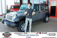 https://flic.kr/p/zHKTJ1 | Happy Anniversary to Dylan  from Ruben Perez at Huffines Chrysler Jeep Dodge RAM Plano | deliverymaxx.com/DealerReviews.aspx?DealerCode=PMMM