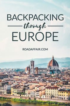 Backpacking through Europe Pinterest Pin