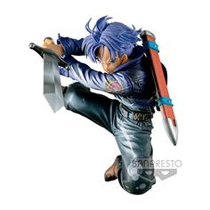 Price: EUR 3999  Banpresto - Z Dragonball Z Figurine - Dbz - Future Trunks 63806  Brand: Banpresto  Hardware Platform: no_operating_system  Label: Banpresto  Manufacturer: Banpresto  Operating System: no_operating_system  Platform: Pas de plate-forme spécifique  Publisher: Banpresto  Studio: Banpresto