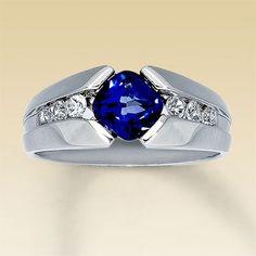 Men's Sapphire Ring